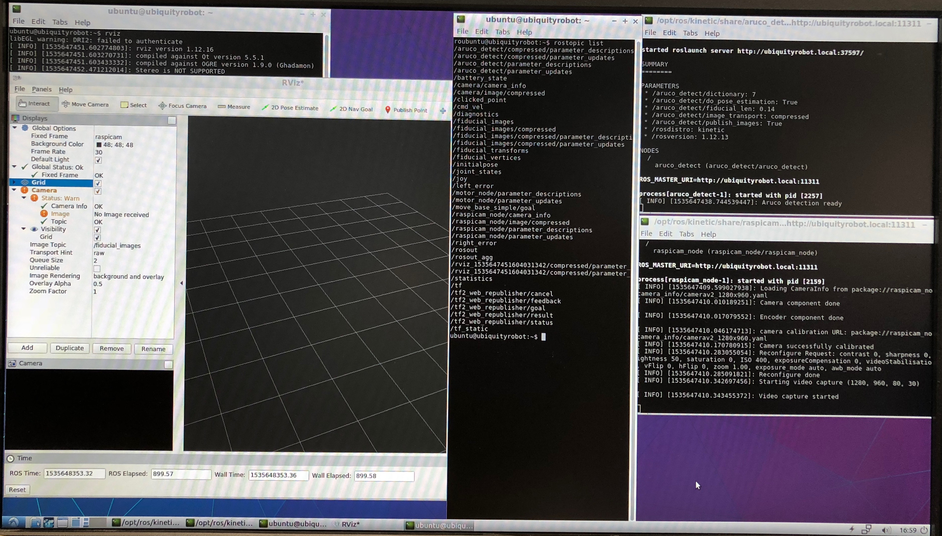 ROS node for the Raspberry Pi Camera Module - General Questions